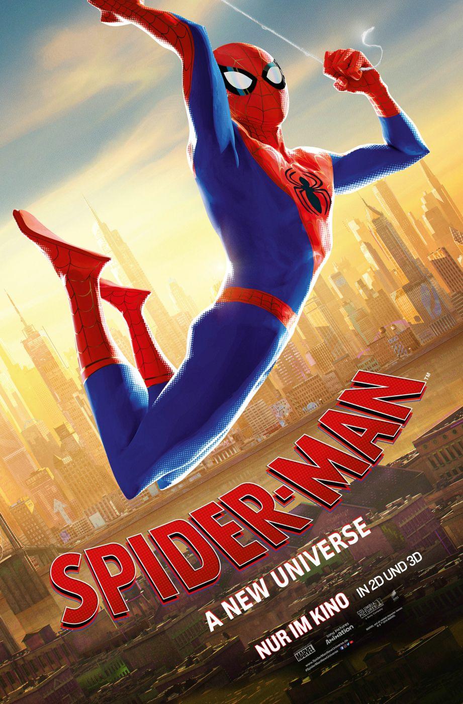 Spiderman A New Universe