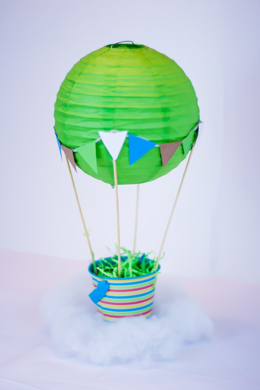 Hot Air Balloon Centerpiece Tutorial Diy Hot Air Balloons Hot