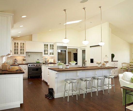 Open Kitchen Layouts Layout