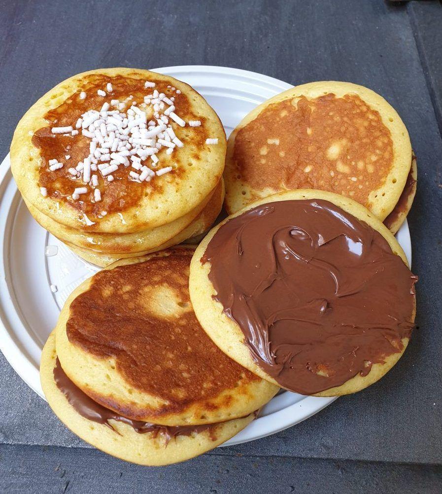 Ricetta Pancake Originali Americani.Pancakes Americani Ricetta Originale Ricetta Pancakes Perfetti Ricette Ricette Dolci Pancake Ricetta