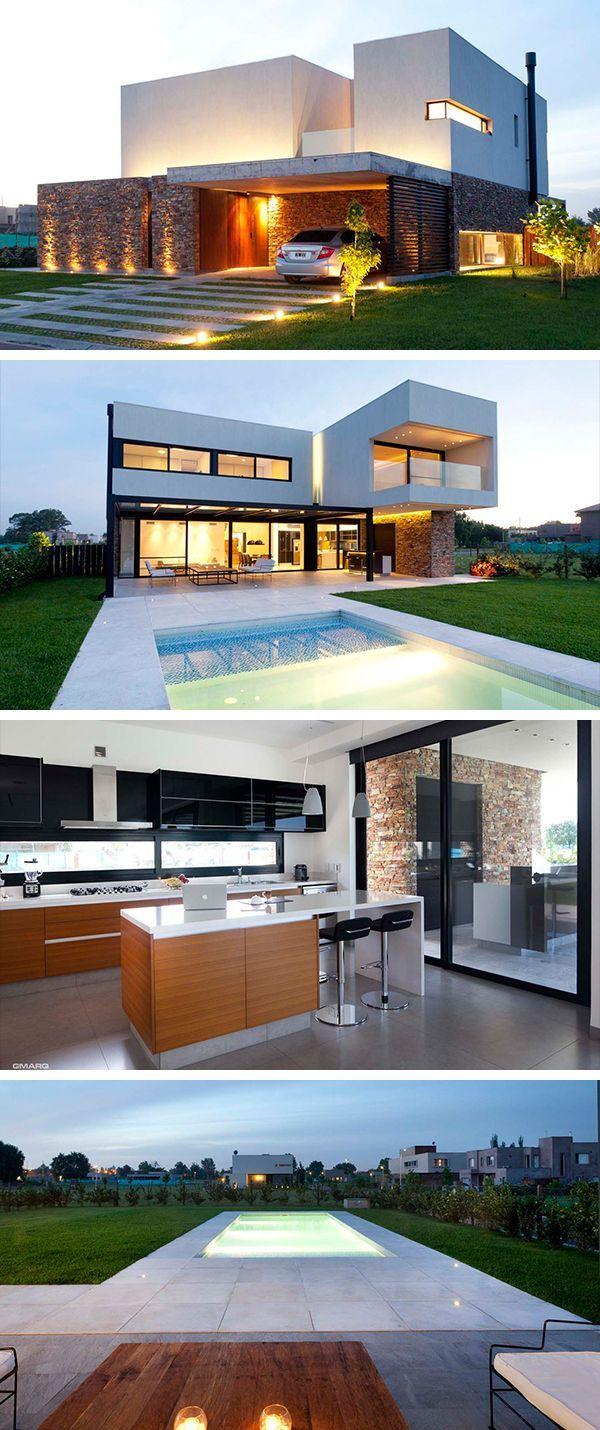 A House by Estudio GM ARQ in