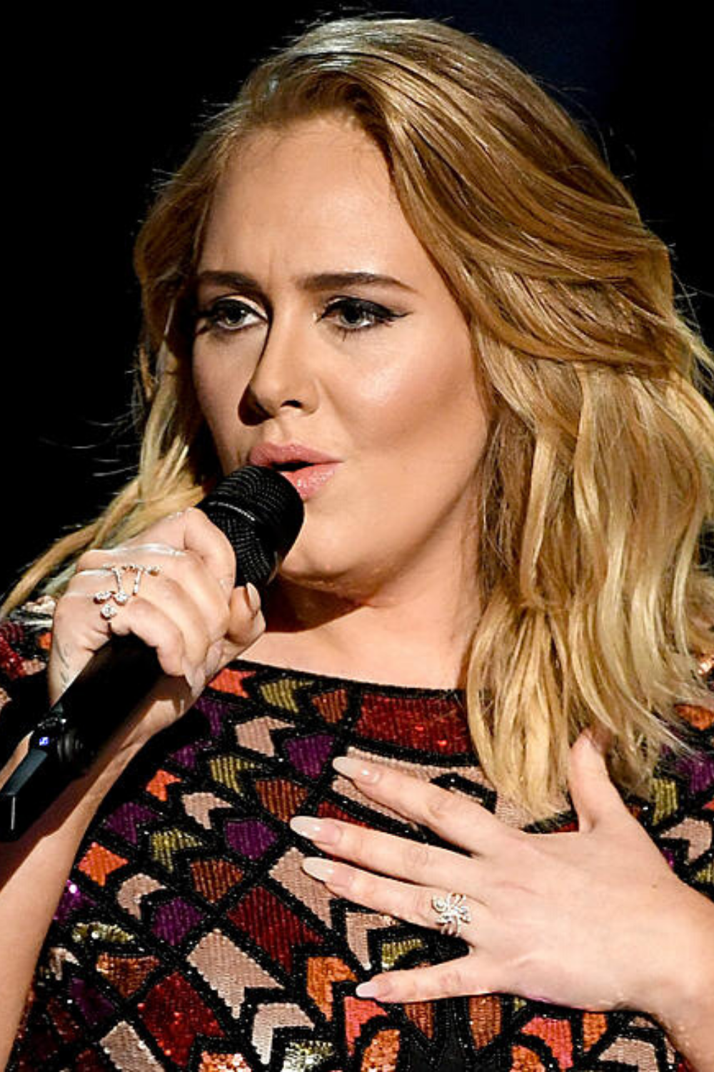 Adele credits spiritual crystal healing for calming her pre-show nerves holistically. #lovewitch #witchcraft #wicca #paganism #witchyaesthetic #wiccan #wiccanspells #whichspellswork #magickspell #witchesspells #spirituality #paganismwomen #paganbeliefs #witchesspellsandpotions #paganspirituality