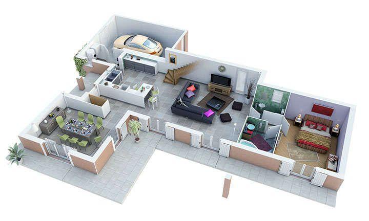 maison provencale joncquiere rdc villas trident maison Pinterest