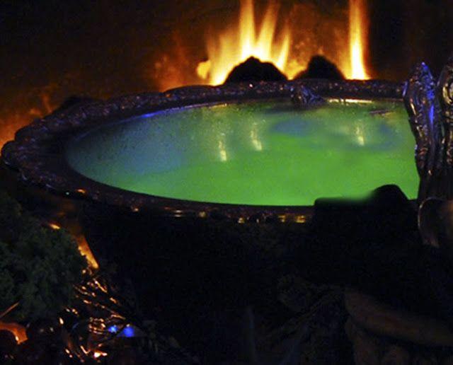 Glow in the Dark Punch Coolglowcom Halloween Drink Recipe Ideas