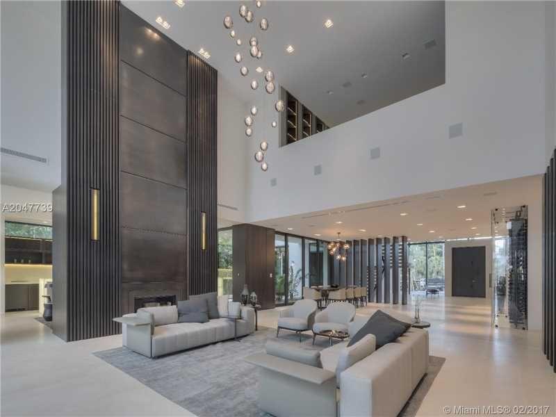Spacious Living Room At 73 Palm Av Miami Beach Fl 33139  Modern Interesting Living Room Miami Review
