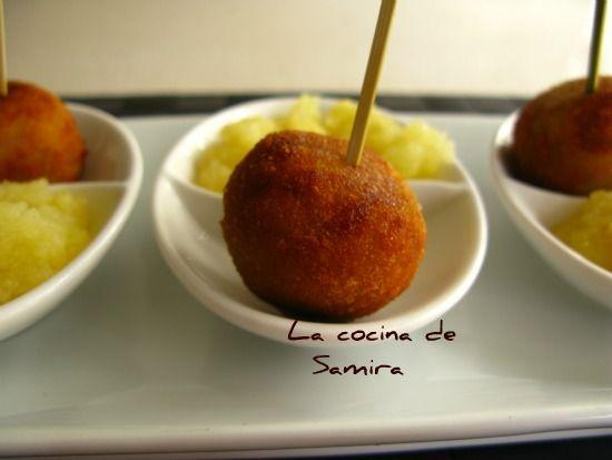 La cocina de Samira: Croquetas de Cabrales a la sidra
