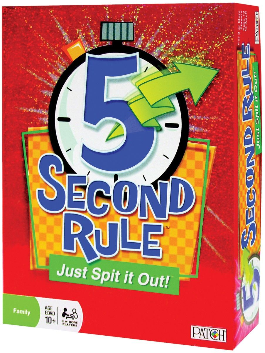 5 Second Rule Game. It should be easy to name three 3