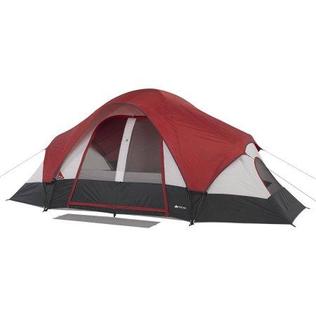 Ozark Trail 8-Person Family Tent - Walmart.com  sc 1 st  Pinterest & Ozark Trail 8-Person Family Tent with Rear Window | Christmas Bells ...