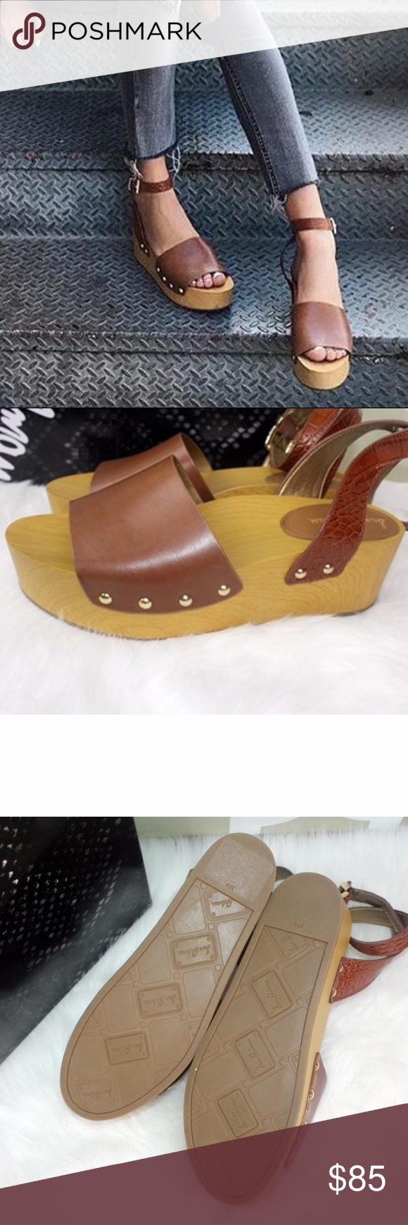 43ad7cdb8 Sam Edelman Women s Brynn Platform Sandal Ankle St Sam Edelman Women s Brynn  Platform Sandal Ankle Strap Saddle Leather Sz 10 1 2 M Widest Part of Sole  3 ...
