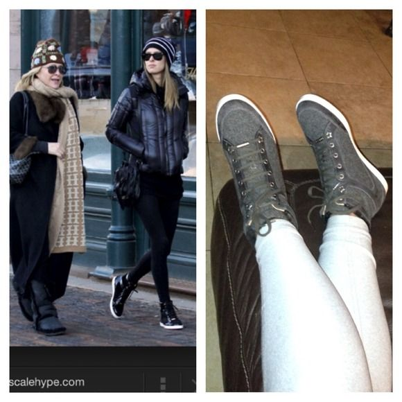 924b1f08170 Jimmy choo Tokyo high top sneakers Very HOTT commodity if you google the  shoe you can