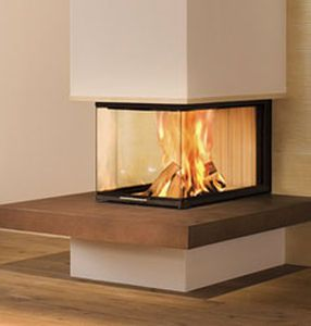 wood burning closed hearth for 3 sided fireplaces linear. Black Bedroom Furniture Sets. Home Design Ideas
