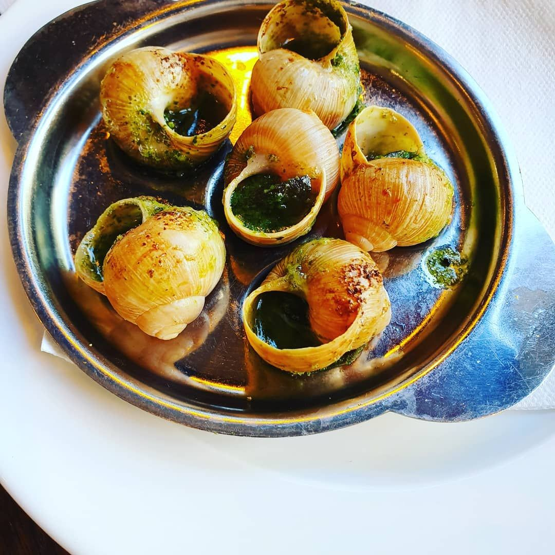 French dishes you should try at least once in your lifetime..#frenchfood #food #escargot #crepes #foiegras #macarons...