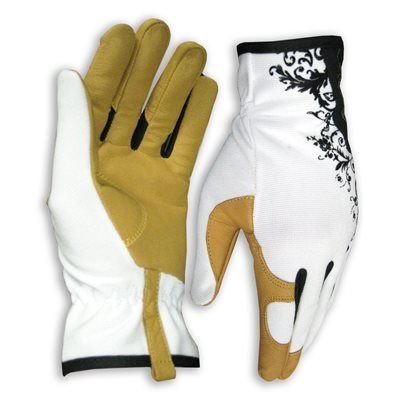Kobalt Garden Glove Large Ladies Leather Leather Palm Multipurpose Gloves