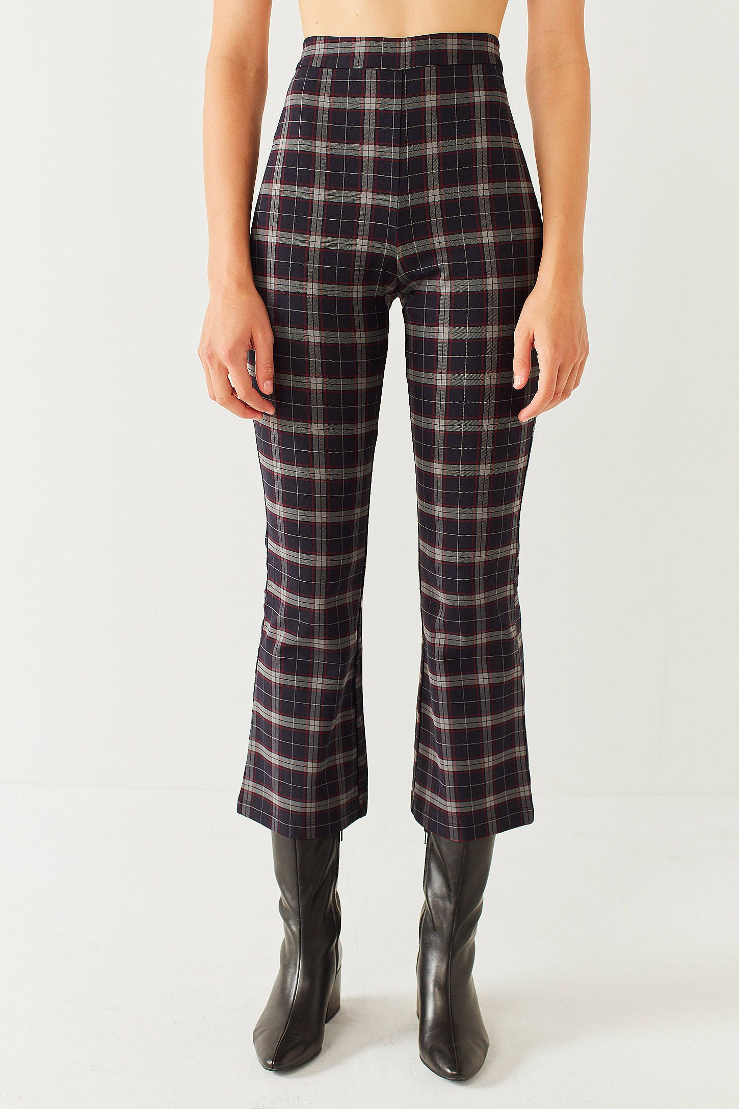 bf71dde185aa6 Shop UO Lola Plaid Kick Flare Pant at Urban Outfitters today. We carry all  the latest styles