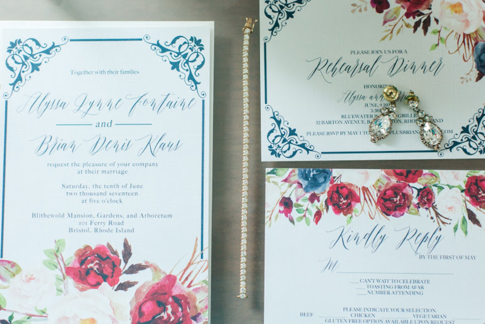 navy rustic wedding invitations. navy and marsala wedding ...