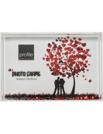 Photo Frame Snowglobe 4x6 | David Jones | Great Gift Ideas ...