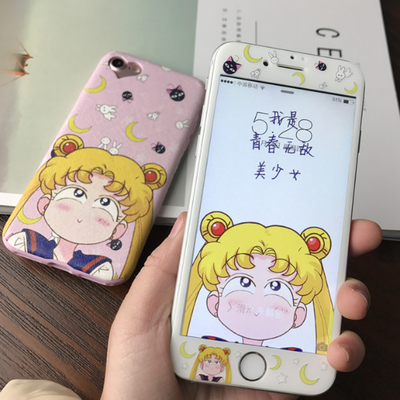 Sailor Moon Iphone Case Suit From Fashion Kawaii Japan Korea Kawaii Phone Case Iphone Phone Cases Iphone Cases