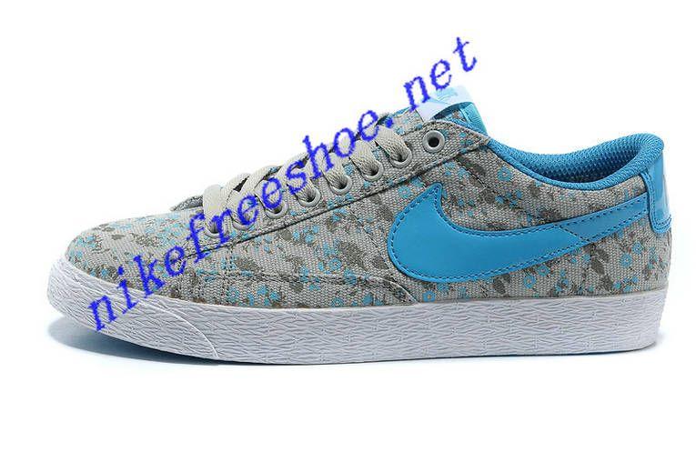 Nike Blazer Low Liberty ID Print Flowers Royal Blue White Grey  fresh