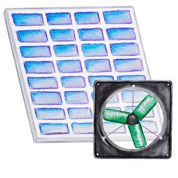Small Hobby Solar Fan Kit Solar Greenhouse Greenhouse Plans Solar Greenhouse Fan
