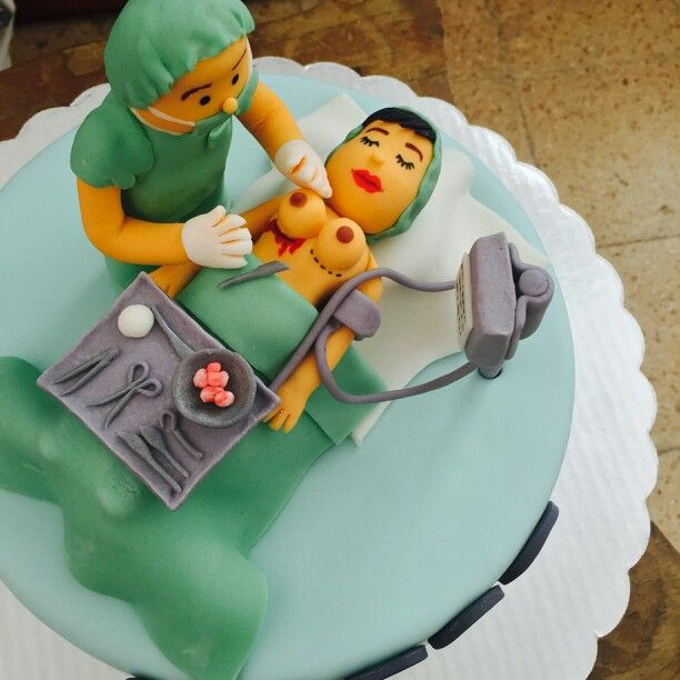 Cake Decorating Medical Theme : Plastic surgeon cake cakes Pinterest Cake, Medical ...