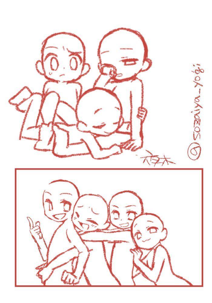 Pin By Amanda Gomez On Julia Ordner Drawings Of Friends Drawing Base Drawings