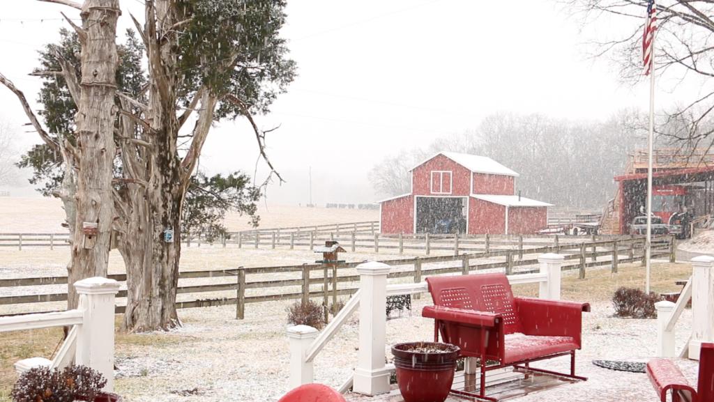 snowy farm 1   JOEY & RORY in 2018   Pinterest   Joey & rory, Joey ...