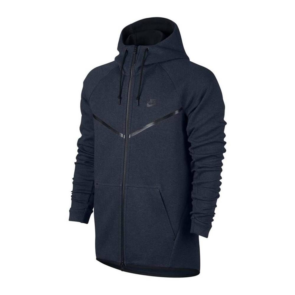 Nike Tech Fleece Windrunner Hoodie Jacket Mens XL Obsidian ...