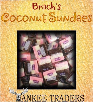 brach s neapolitan coconut sundaes candy 2 lbs vintage