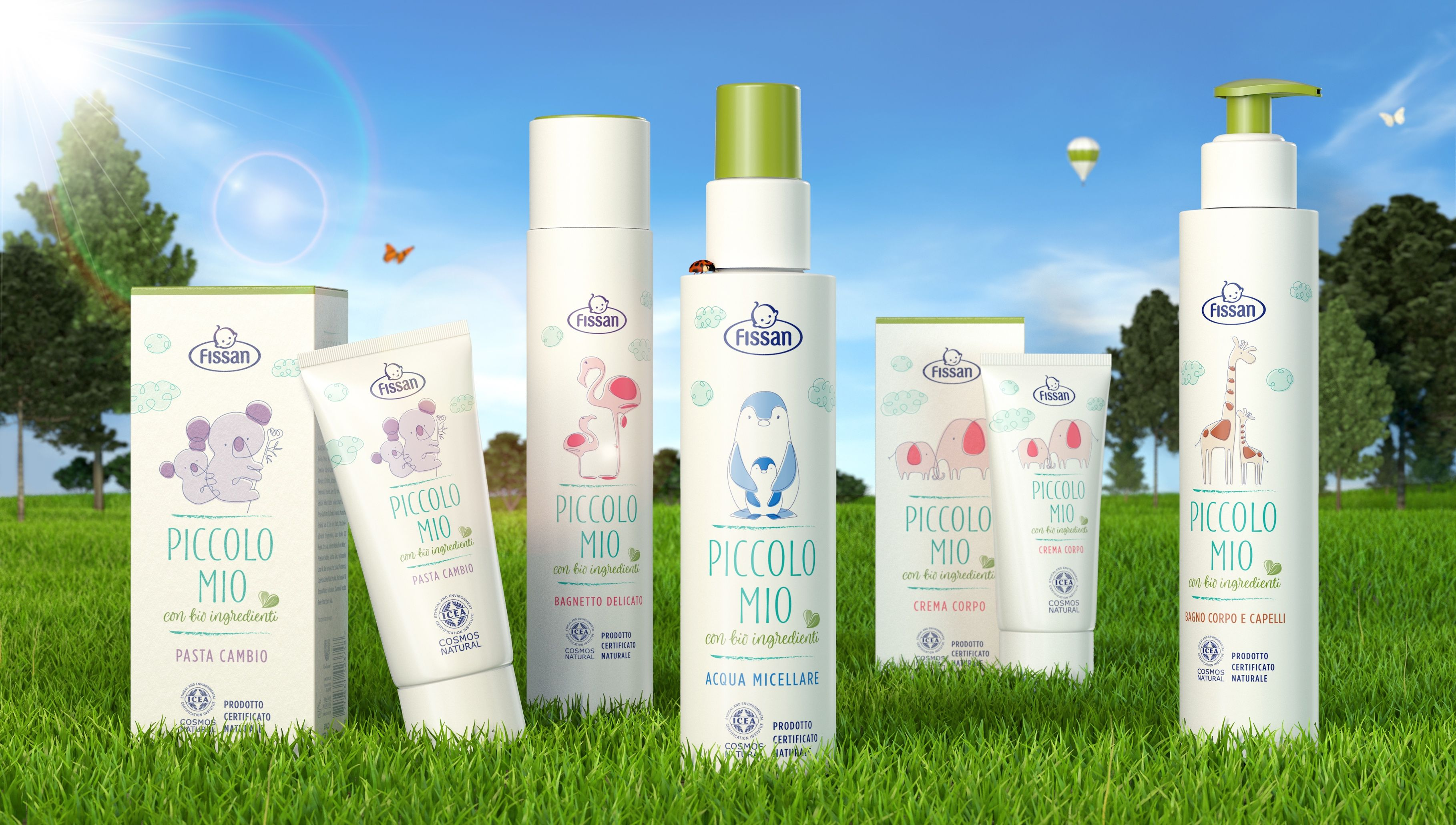 A New Natural Range Of Baby Care Products From Fissan Beauty Packaging Baby Care Cosmetics Brands