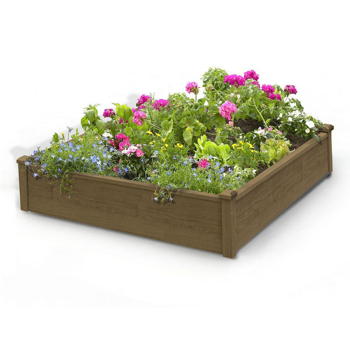 Algreen Products 34004 Raised Garden Bed Raised garden