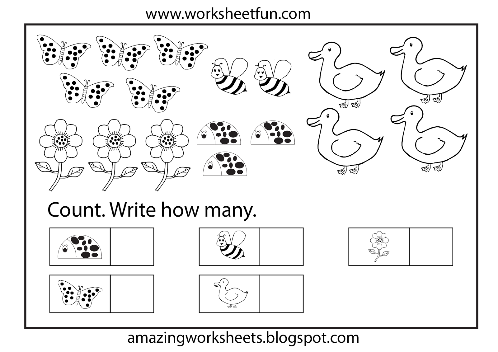 Worksheets Worksheet For Kindergarten kindergarten coloring and worksheets for on pinterest