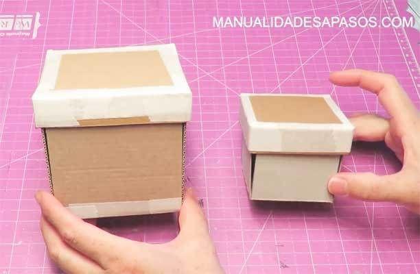 61 Ideas De Detalles Caja Con Fotos Cómo Hacer Una Caja Como Hacer Tarjetas