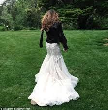 Image result for latest trend wedding dress with leather jacket