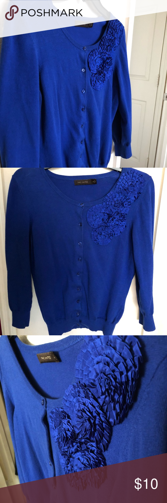 PICK ME ☀️The Limited☀️cardigan | Royal blue cardigan, Royal ...