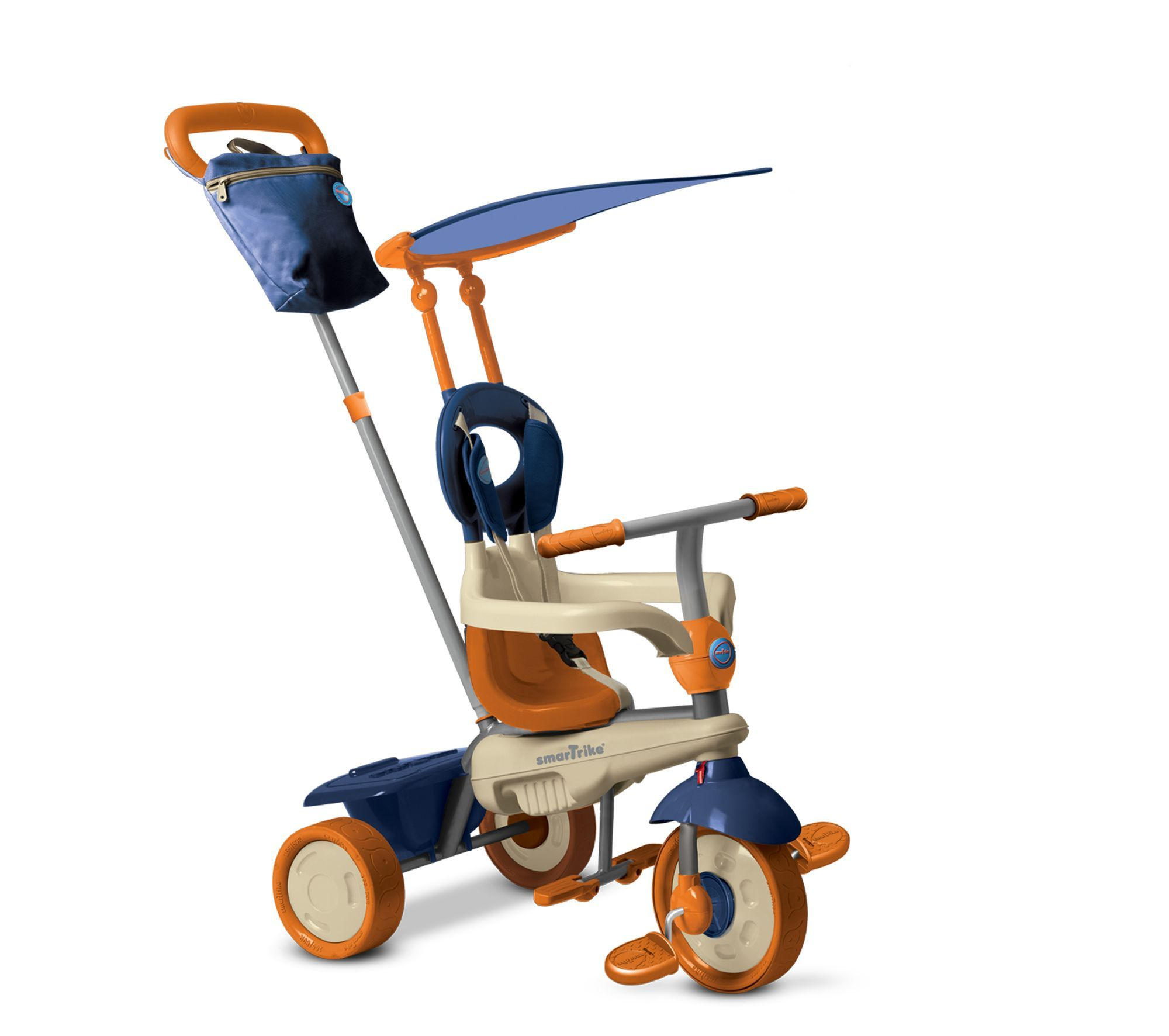 Smart Trike Vanilla 4in1 Blue Tricycle, Trike, Early