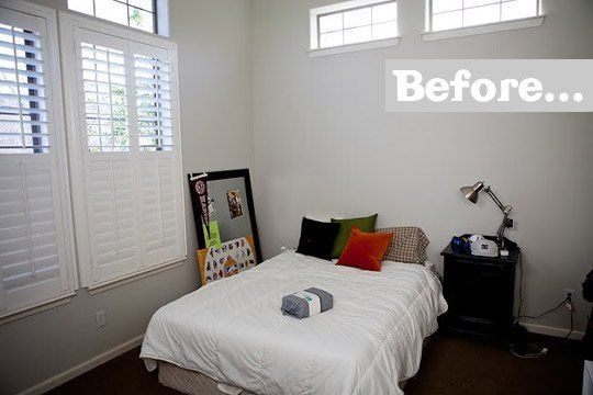 Before & After: A Basic Space Becomes A Cool Teenage Boy Bedroom — 71 Toes