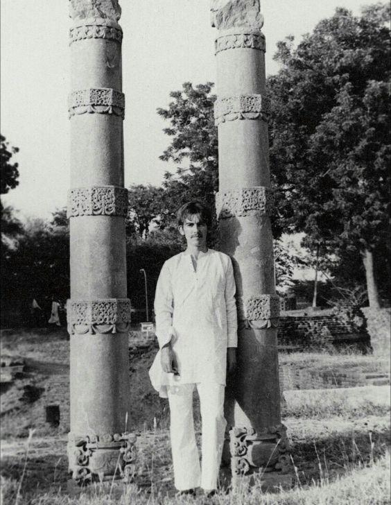 George harrison in India