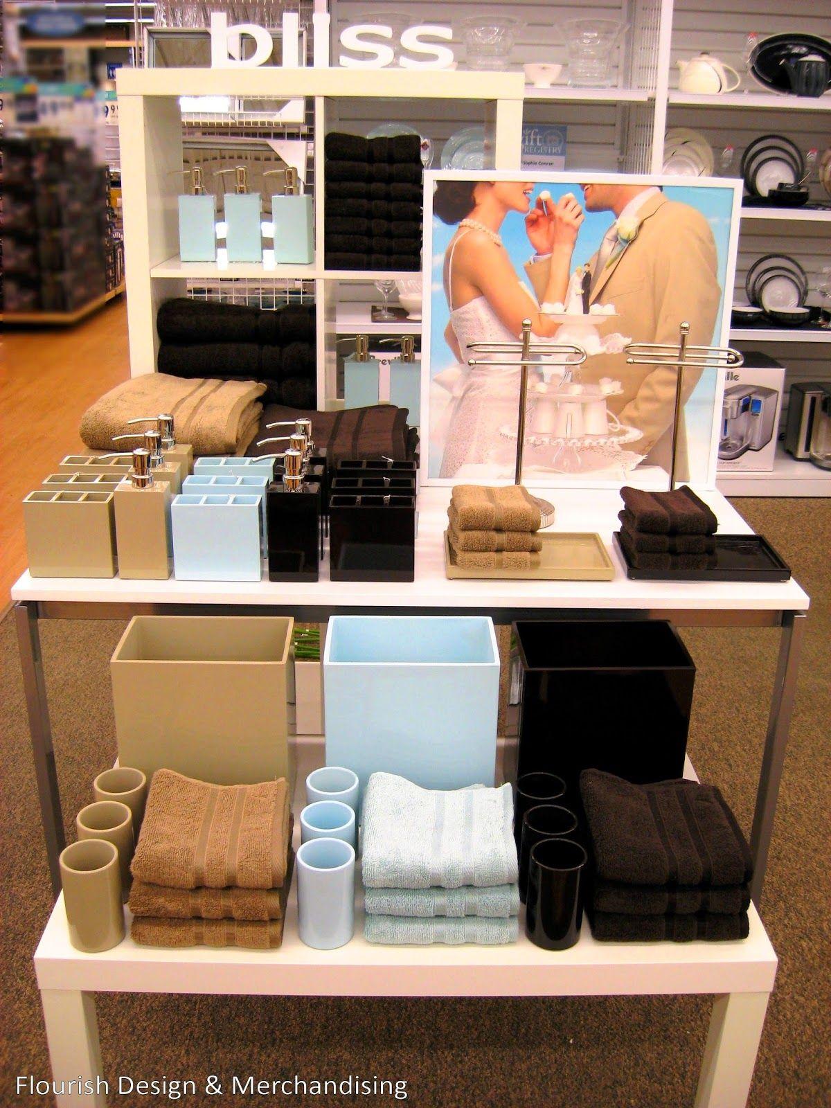 Spring Fever Visual merchandising displays, Towel