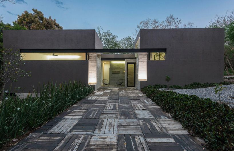 GBF 키 드 arquitectura 카사 RGT 집 모렐 로스 멕시코 콘크리트 디자인 붐