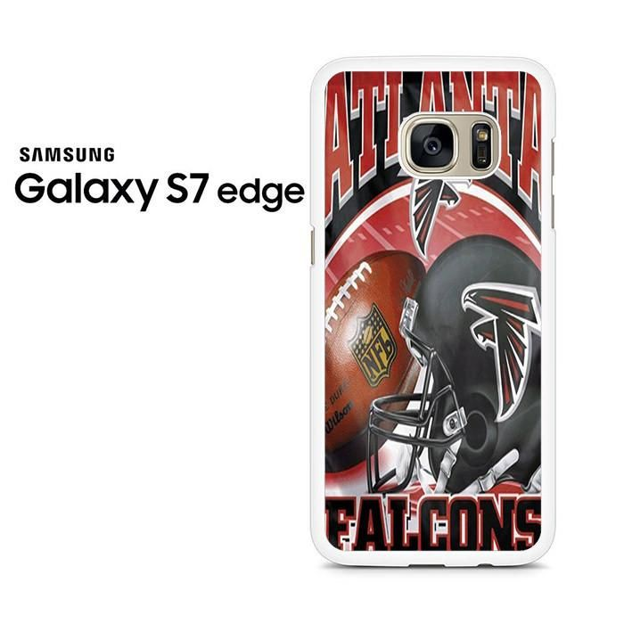 Atlanta Falcons Logo Helmet Samsung Galaxy S7 Edge Case