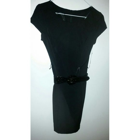 NWT Black dress Very professional dress brand new, love it just too big for me. BCX Dresses