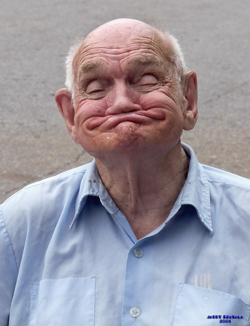 Pictures of funny old people