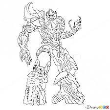 transformers megatron drawings - Google zoeken