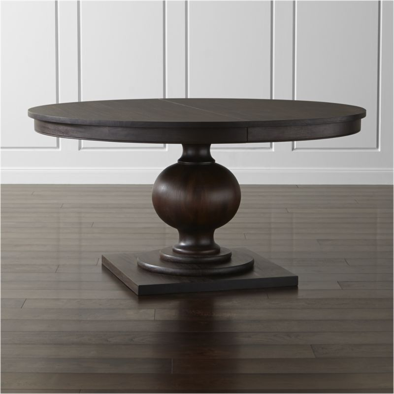 Winnetka Round Extension Dining Table Round Extendable Dining Table Dining Table Dining Room Table