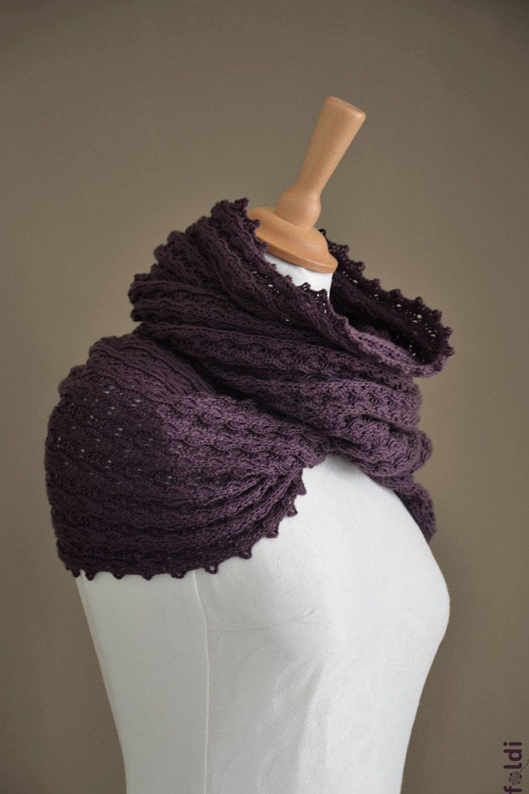 Magnificent Knitted Mobius Scarf Pattern Free Component - Blanket ...
