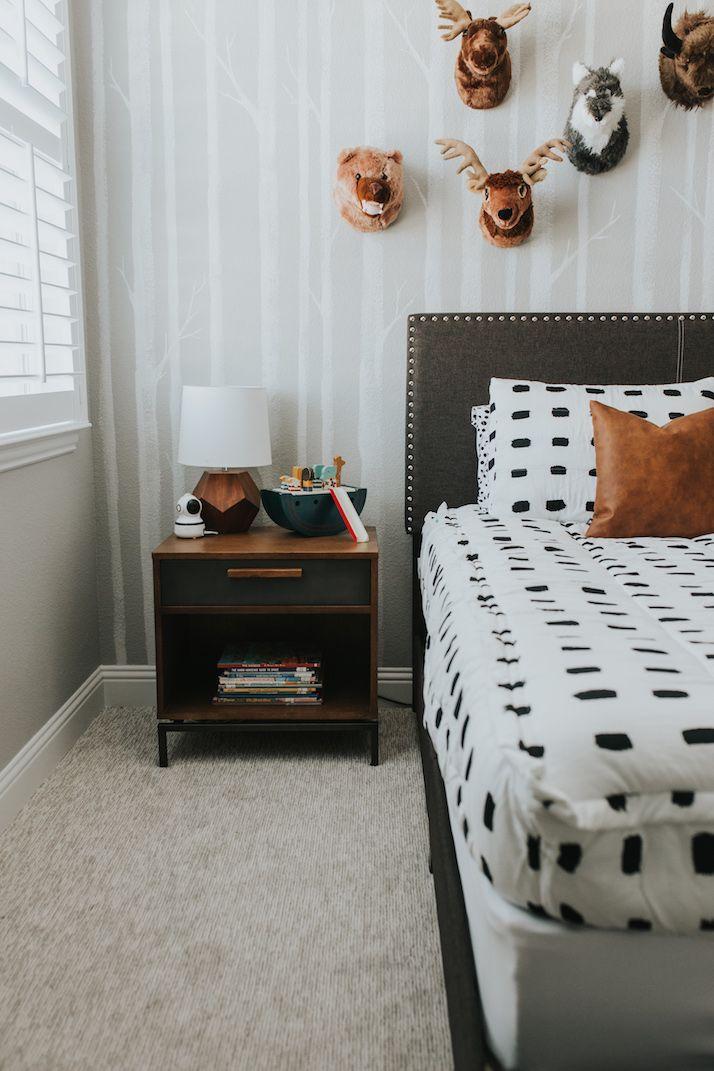 Sanny's Woodland Theme Bedroom | Merrick's Art
