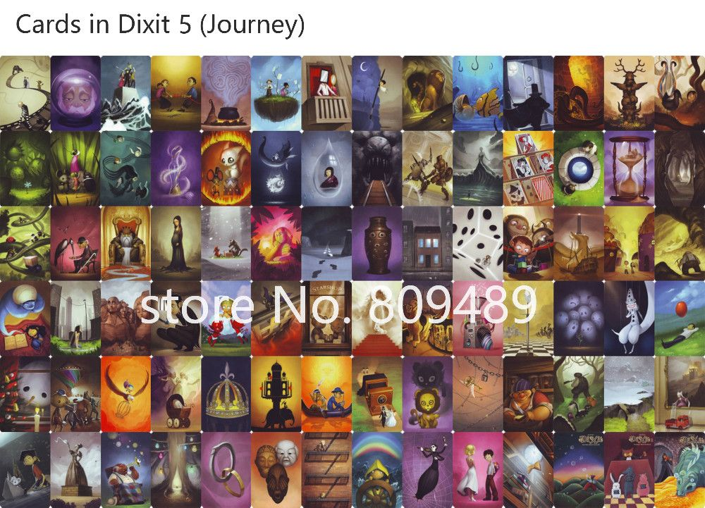Modern Dixit Board Game Review Dixit Cards All Board