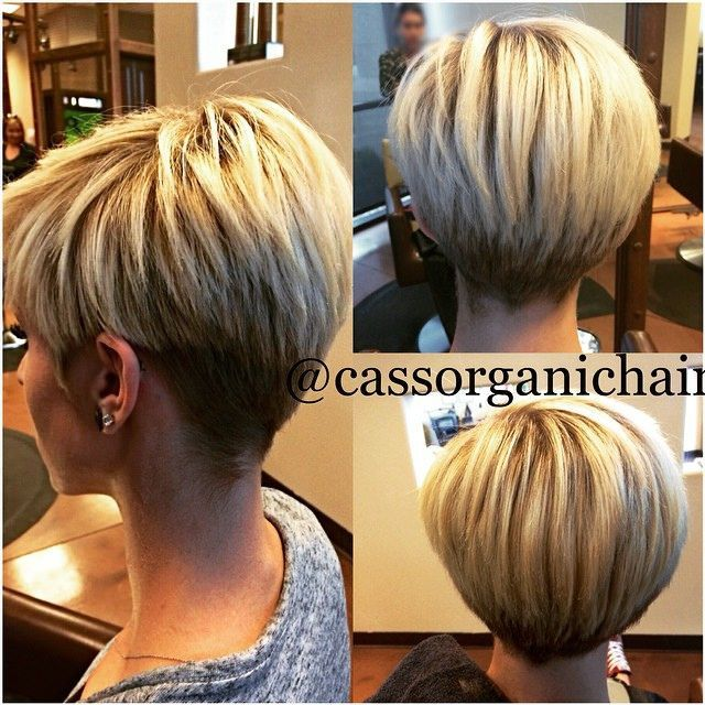 Wedge Hairstyles Explore Short Hairstyles And M   Haircarla  Pinterest  Short