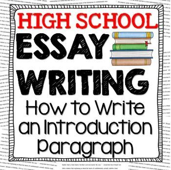 Essay writing in us