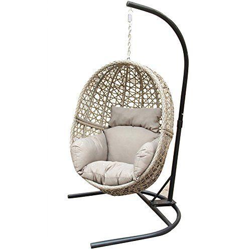Kyra Hanging Chair Patio Furniture Pillows Hanging Chair Fire Pit Furniture